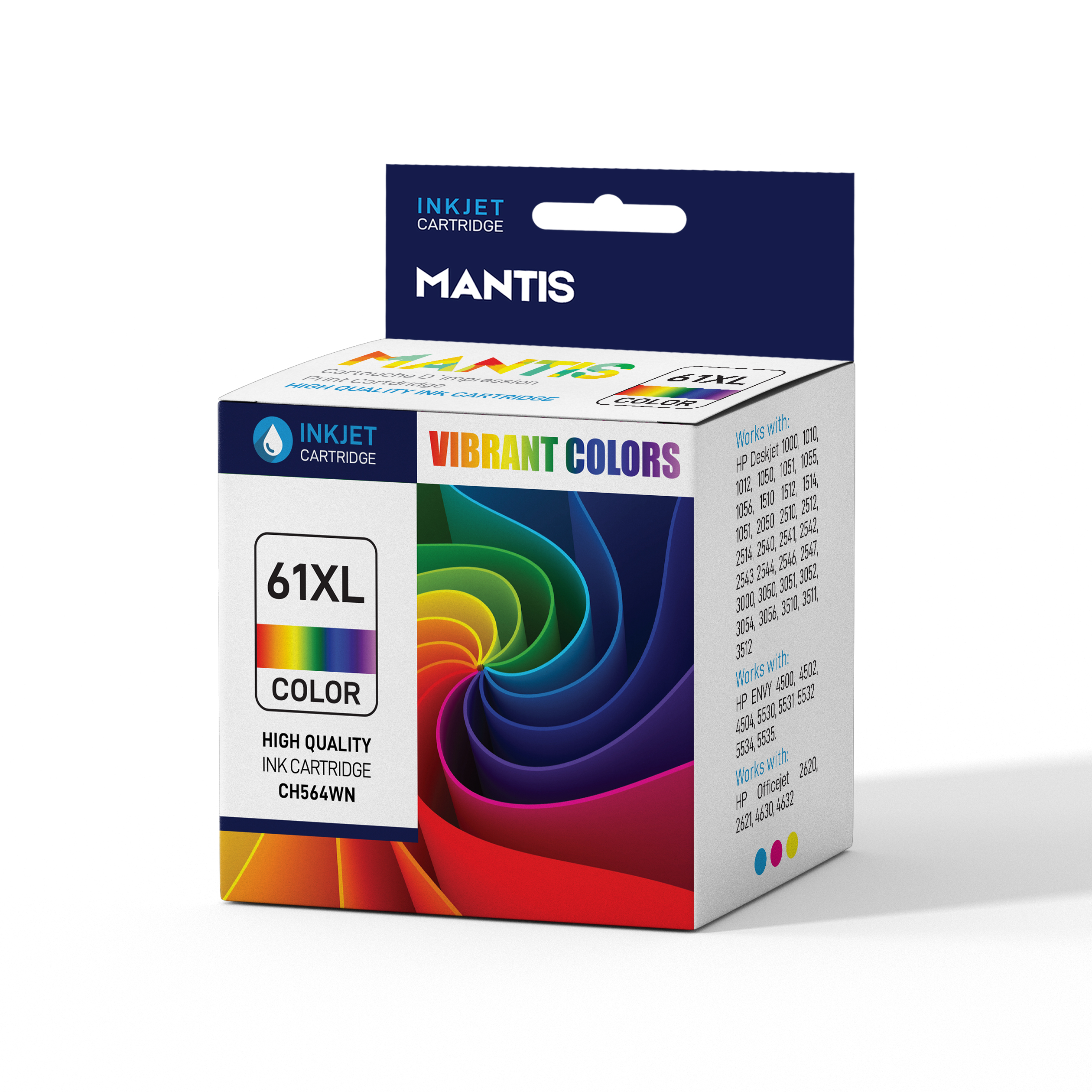 HP 61 XL Ink Cartridges | Compatible with HP Deskjet, HP ENVY, and HP  Officejet Printers | 2 Pack Tricolor Ink